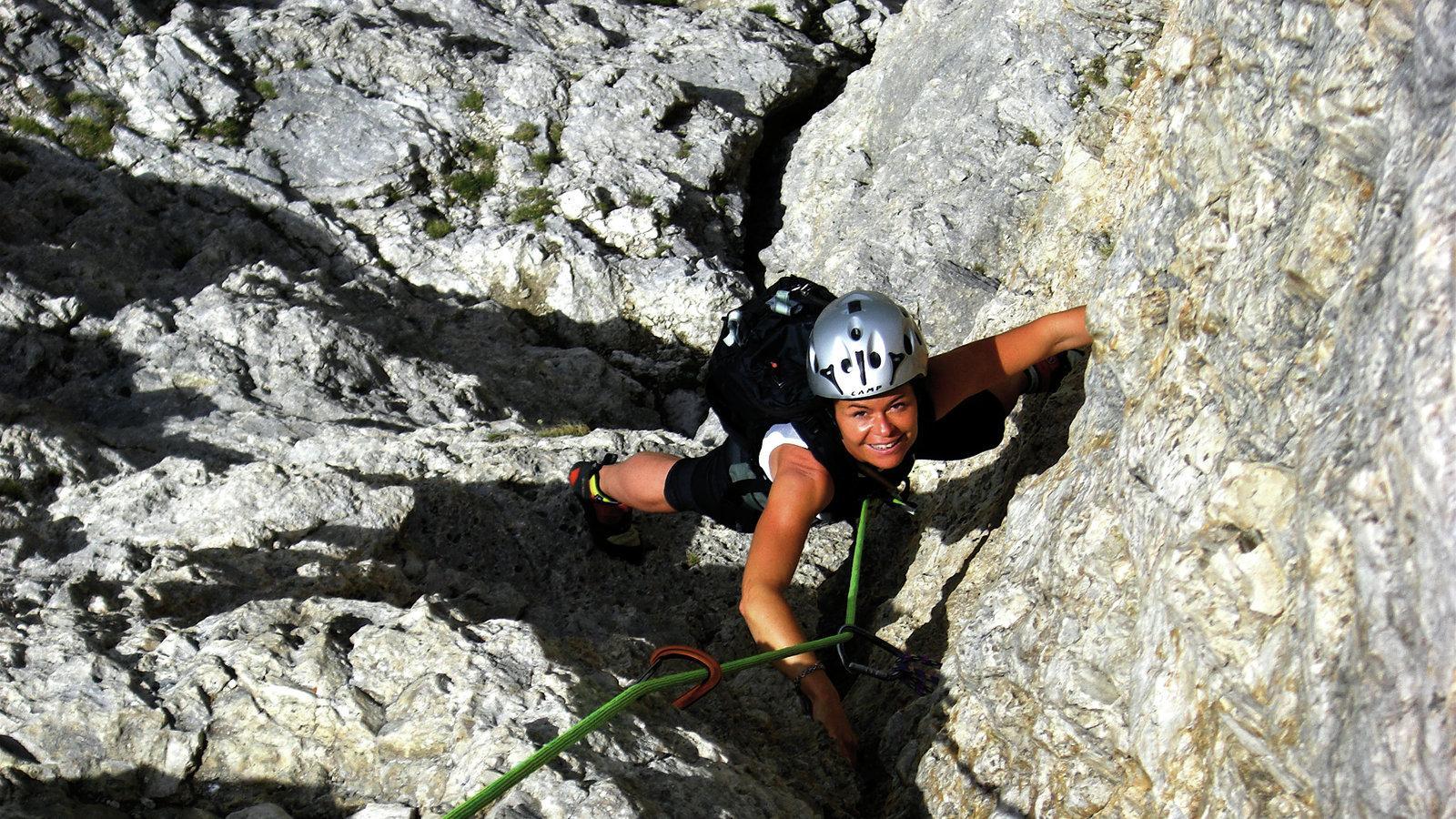 Klettersteig Unterstell : Tourentipp hoachwool klettersteig bei naturns tourentipps