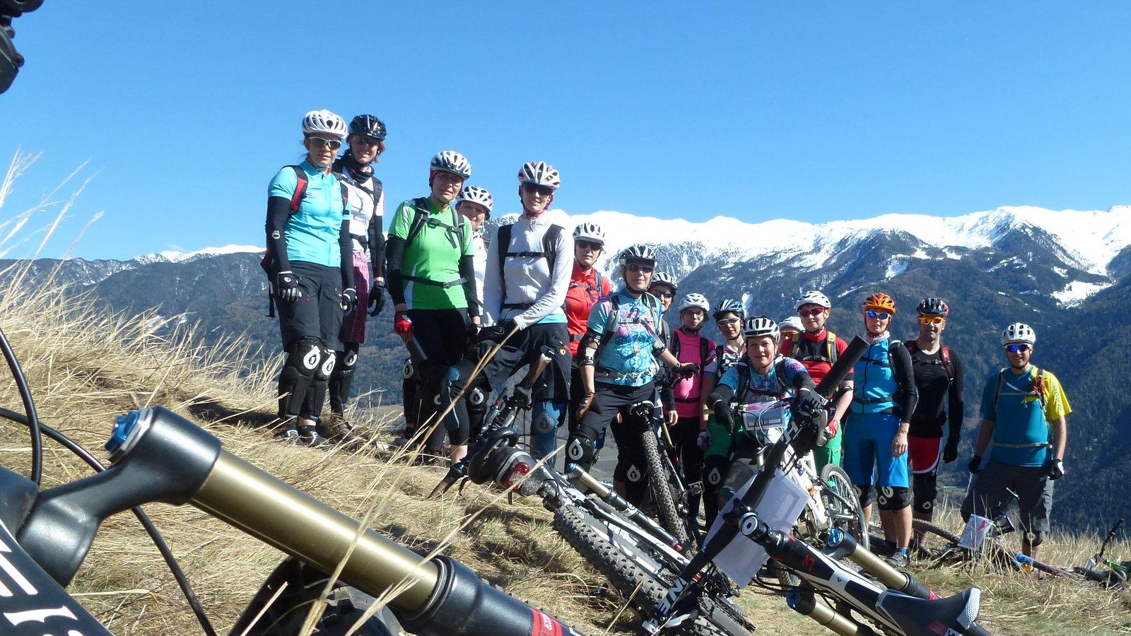 MountainBike Women`s Camp 2014
